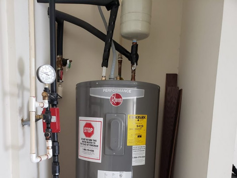 ELECTRIC WATER HEATER CHANGE OUT